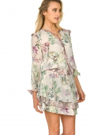 Hale Bob |  Floral dress Jeanette| naturel  | Picture 4