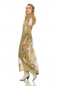 Hale Bob |  Printed maxi dress Jules | white  | Picture 4