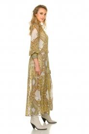 Hale Bob |  Printed maxi dress Jules | white  | Picture 6