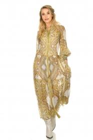 Hale Bob |  Printed maxi dress Jules | white  | Picture 2