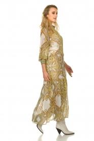 Hale Bob |  Printed maxi dress Jules | white  | Picture 5