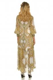 Hale Bob |  Printed maxi dress Jules | white  | Picture 7