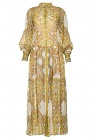 Hale Bob |  Printed maxi dress Jules | white  | Picture 1