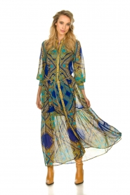 Hale Bob |  Printed maxi dress Jules | blue  | Picture 2