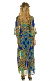 Hale Bob |  Printed maxi dress Jules | blue  | Picture 5