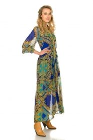 Hale Bob |  Printed maxi dress Jules | blue  | Picture 4