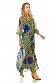 Hale Bob |  Printed maxi dress Jules | blue  | Picture 3