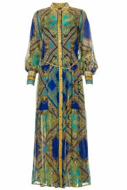 Hale Bob |  Printed maxi dress Jules | blue  | Picture 1