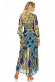 Hale Bob |  Printed maxi dress Jules | blue  | Picture 6