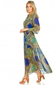 Hale Bob |  Printed maxi dress Jules | blue  | Picture 5