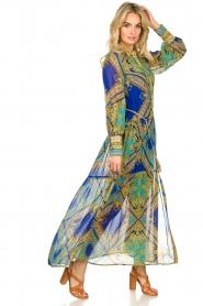 Hale Bob |  Printed maxi dress Jules | blue  | Picture 4