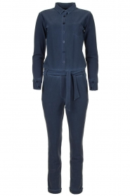 D-ETOILES CASIOPE |  Wrinkle-free stretch jumpsuit  Taime | blue  | Picture 1