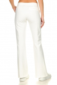 D-ETOILES CASIOPE |  Wrinkle-free stretch trousers Rodez | white  | Picture 6
