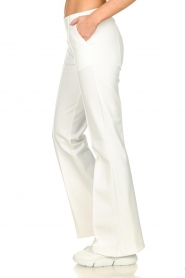 D-ETOILES CASIOPE |  Wrinkle-free stretch trousers Rodez | white  | Picture 5