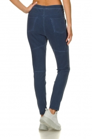D-ETOILES CASIOPE |  Wrinkle-free stretch pants with denim look Tate | blue  | Picture 6