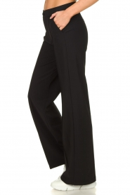 D-ETOILES CASIOPE |  Wrinkle-free stretch trousers Trixie | black  | Picture 5