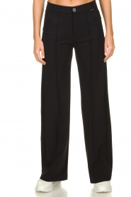 D-ETOILES CASIOPE |  Wrinkle-free stretch trousers Trixie | black  | Picture 4