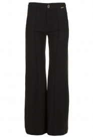 D-ETOILES CASIOPE |  Travel wear flare trousers Trixie | black  | Picture 1