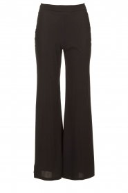 D-ETOILES CASIOPE | Travelwear palazzo pant Tabasco | black  | Picture 1