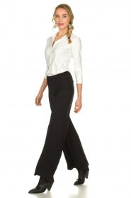 D-ETOILES CASIOPE | Travelwear palazzo pant Tabasco | black  | Picture 3