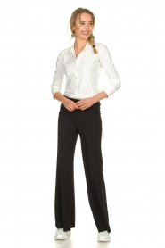 D-ETOILES CASIOPE | Travelwear palazzo pant Tabasco | black  | Picture 2