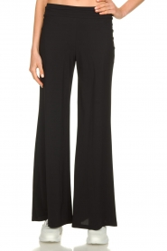 D-ETOILES CASIOPE | Travelwear palazzo pant Tabasco | black  | Picture 4