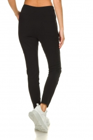 D-ETOILES CASIOPE |  Wrinkle-free stretch pants Guet | black  | Picture 6