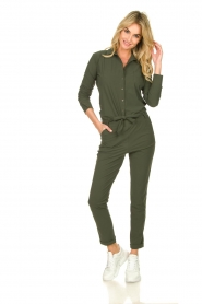D-ETOILES CASIOPE |  Travelwear jumpsuit Tiamo | green  | Picture 3