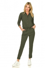 D-ETOILES CASIOPE |  Travelwear jumpsuit Tiamo | green  | Picture 4