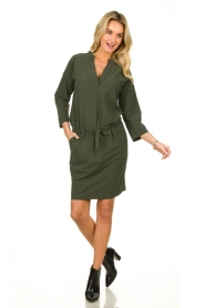 D-ETOILES CASIOPE |  Travelwear dress Topaze | green  | Picture 3