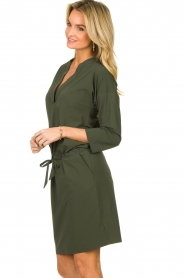D-ETOILES CASIOPE |  Travelwear dress Topaze | green  | Picture 4