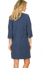 D-ETOILES CASIOPE |  Travelwear dress with denim look Toujours | blue  | Picture 6