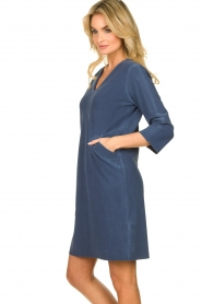 D-ETOILES CASIOPE |  Travelwear dress with denim look Toujours | blue  | Picture 5