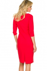 D-ETOILES CASIOPE |  Travelwear dress Trento | red  | Picture 6