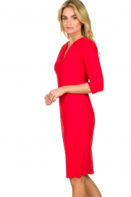 D-ETOILES CASIOPE |  Travelwear dress Trento | red  | Picture 5