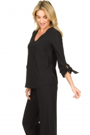 D-ETOILES CASIOPE |  Travelwear top Terre | black  | Picture 6