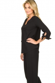 D-ETOILES CASIOPE |  Travelwear top Terre | black  | Picture 5