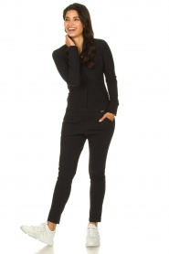D-ETOILES CASIOPE |  Wrinkle-free stretch blouse Petite | black  | Picture 3