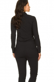 D-ETOILES CASIOPE |  Wrinkle-free stretch blouse Petite | black  | Picture 5