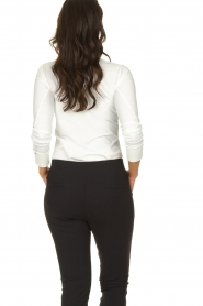 D-ETOILES CASIOPE |  Wrinkle-free stretch blouse Petite | white  | Picture 5