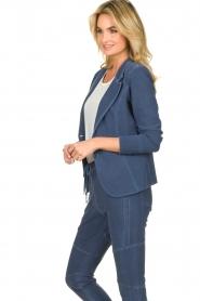 D-ETOILES CASIOPE | Travelwear blazer Tokio | blauw  | Afbeelding 5