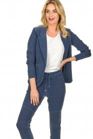 D-ETOILES CASIOPE | Travelwear blazer Tokio | blauw  | Afbeelding 4