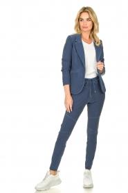 D-ETOILES CASIOPE | Travelwear blazer Tokio | blauw  | Afbeelding 3