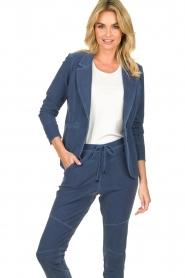 D-ETOILES CASIOPE | Travelwear blazer Tokio | blauw  | Afbeelding 2