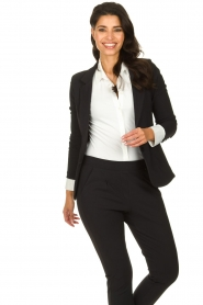 D-ETOILES CASIOPE |  Travelwear blazer Saintes | black  | Picture 2