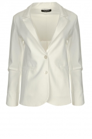 D-ETOILES CASIOPE |  Wrinkle-free stretch blazer Saintes | white  | Picture 1