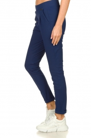 D-ETOILES CASIOPE |  Wrinkle-free stretch pants Rover | blue  | Picture 5