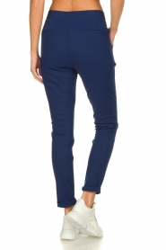D-ETOILES CASIOPE |  Wrinkle-free stretch pants Rover | blue  | Picture 6
