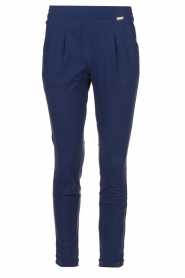 D-ETOILES CASIOPE |  Wrinkle-free stretch pants Rover | blue  | Picture 1