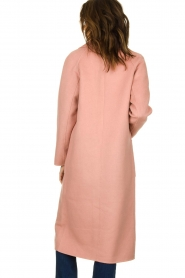 Clairval |  Wool coat Carole | pink  | Picture 5